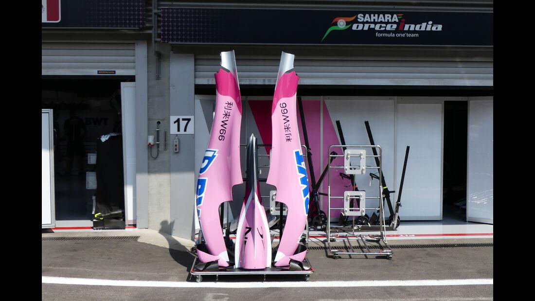 Fore India - Formel 1 - GP Belgien - Spa-Francorchamps - 22. August 2018