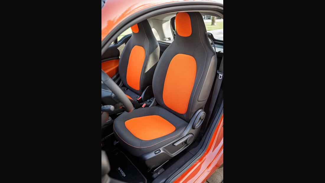 Forfour 1.0, Fahrersitz