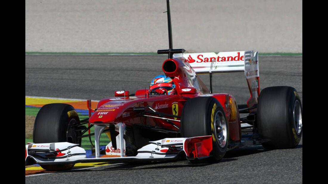 Forme 1-Test Valencia 2011