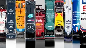 Formel 1 - 2021 - Autos