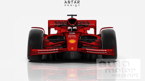 Formel 1 2021 - Konzept - Mark Antar
