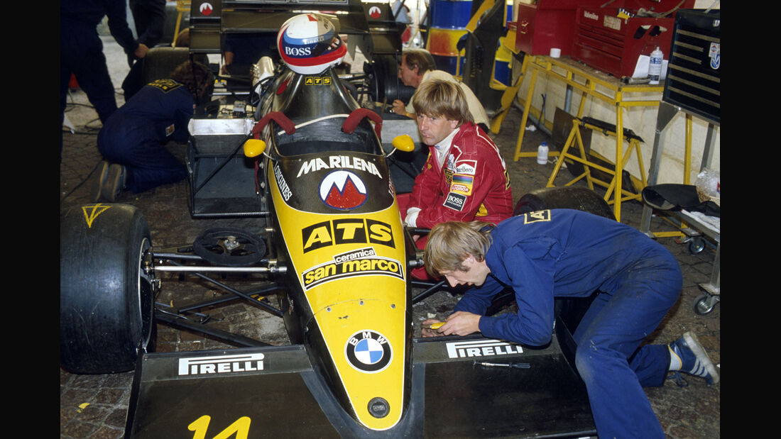 Formel 1 - ATS D7 - R4-Turbo - BMW