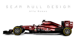 Formel 1 - Alfa Romeo - Fantasie-Teams - Sean Bull Design