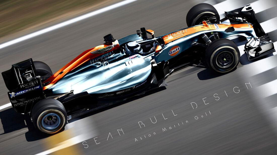 Formel 1 - Aston Martin - Fantasie-Teams - Sean Bull Design
