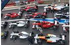 Formel 1, Aufstellung