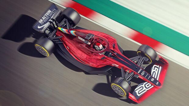 Formel 1-Auto 2022