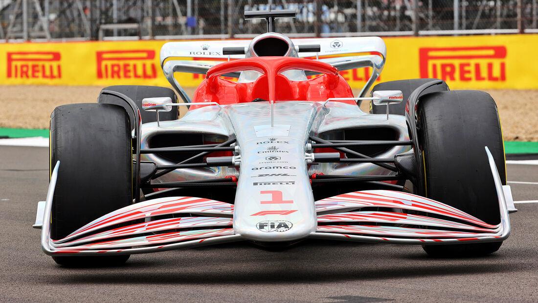 Formel 1 - Auto - 2022 - 1:1-Modell - GP England - Silverstone
