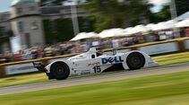 Formel-1-Autos aus der Karriere von Bernie Ecclestone in Goodwood 2017