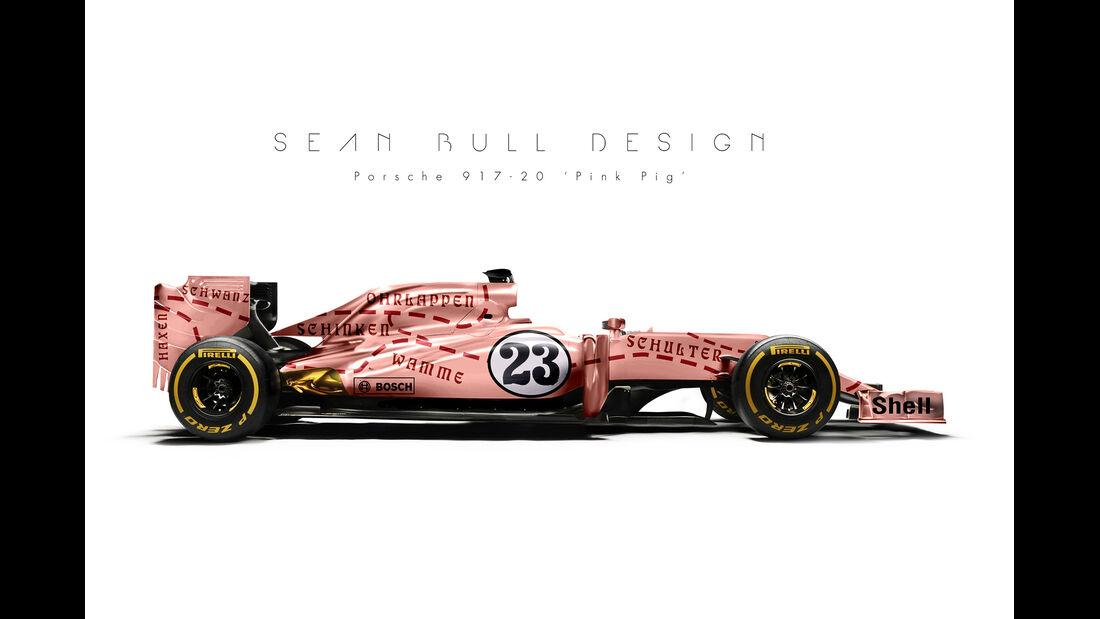 Formel 1-Autos im Le Mans Design - Sean Bull