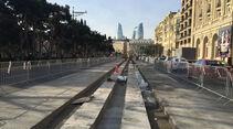 Formel 1 - Baku - Aserbaidschan - Strecke - 2016
