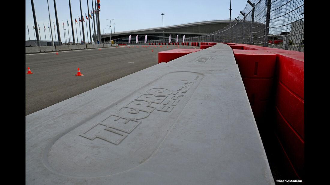 Formel 1-Baustelle - Sochi - GP Russland 2014