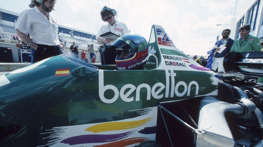 Formel 1 - Benetton B186 - R4-Turbo - BMW - 1986
