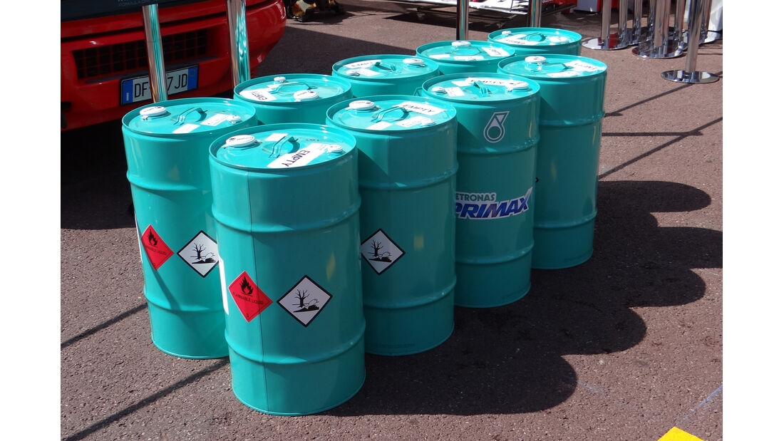 Formel 1-Benzin - GP Monaco - 23. Mai 2012