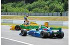 Formel 1-Boliden beim Eifelrennen