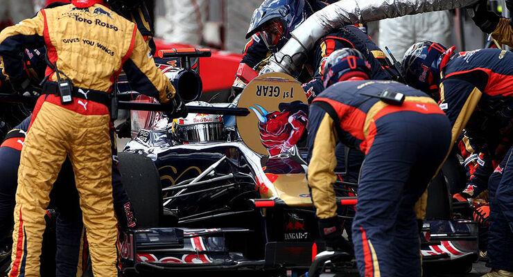Formel 1 Boxenstopp