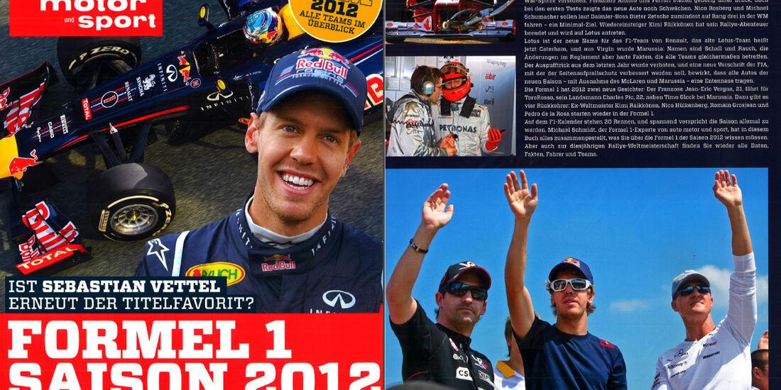 Formel 1 Buch 2012 Titel