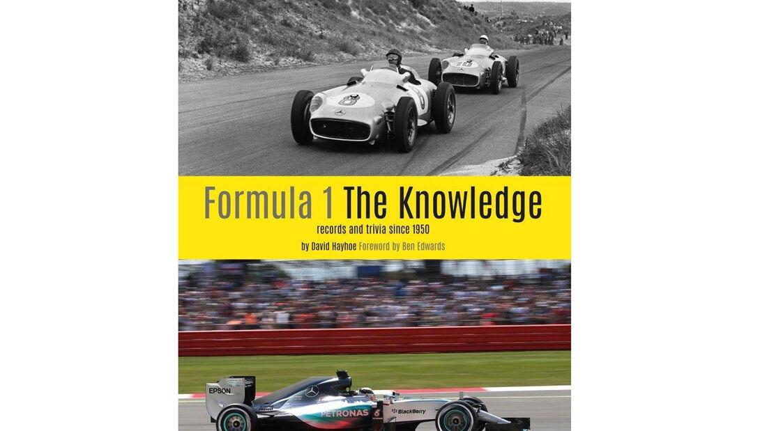 """Formel 1-Buch - """"Formula 1 - The Knowledge"""" - Buchtipp"""