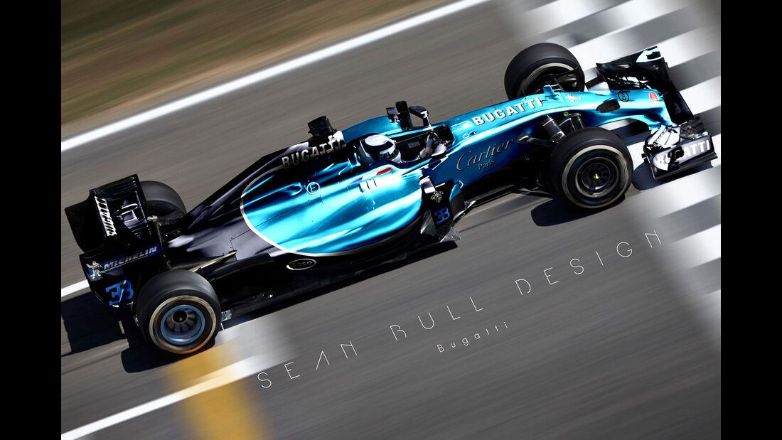 Formel 1 - Bugatti - Fantasie-Teams - Sean Bull Design