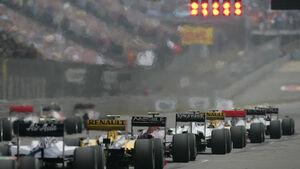 Formel 1 China 2010 Start