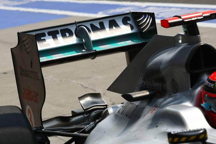 Formel 1 China GP 2010 Technikanalyse