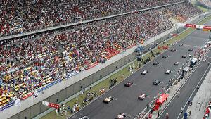 Formel 1 China - Start