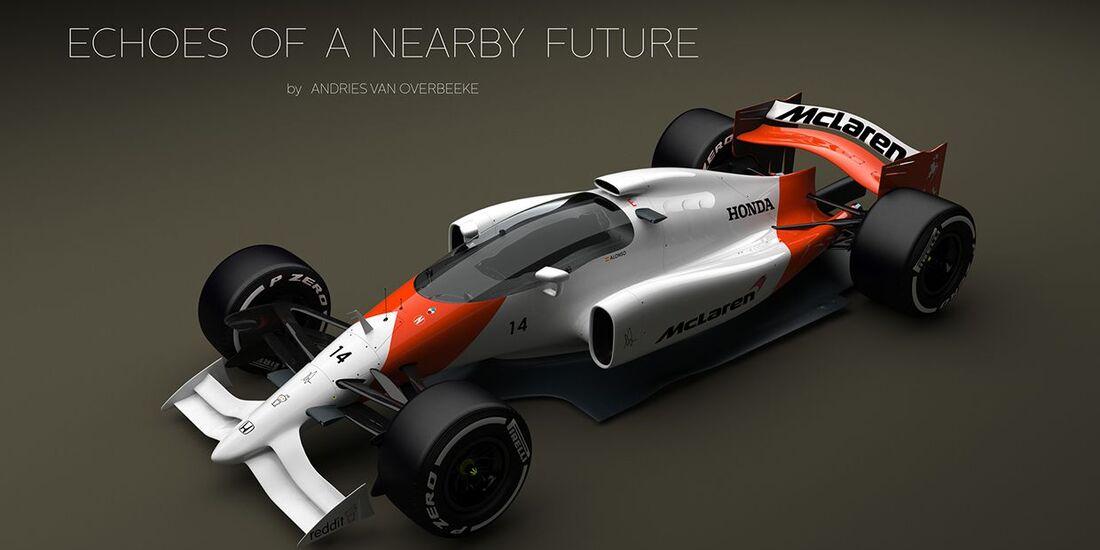 Formel 1-Cockpit-Schutz: Käfig-Lösung - auto motor und sport