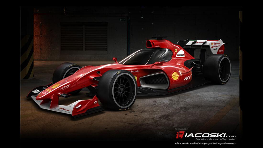 Formel 1 Cockpitschutz - Concept FX-i1 - iacoski
