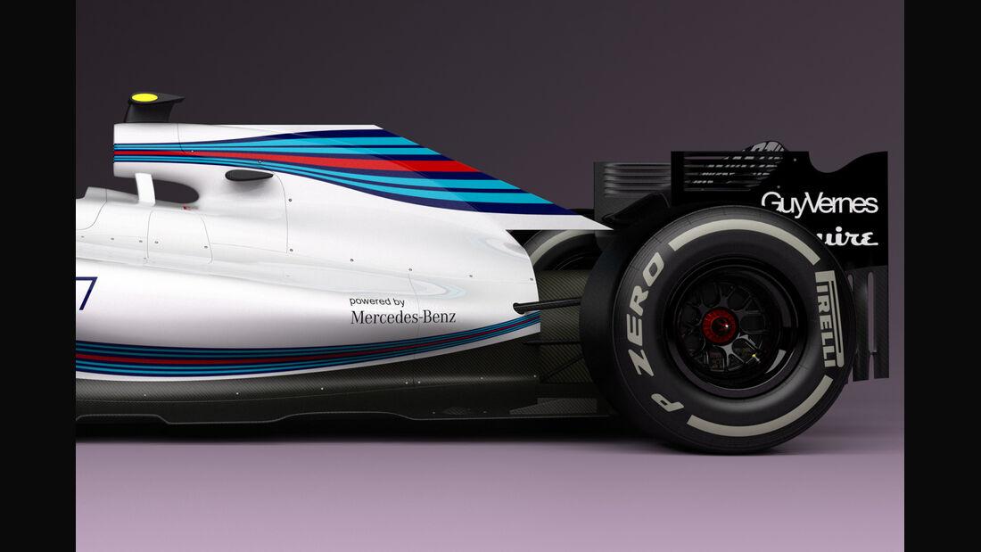 Formel 1 - Concept - Williams - Andries van Overbeeke - 2015