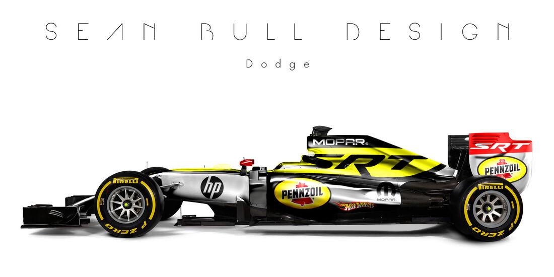 Formel 1 - Dodge - Fantasie-Teams - Sean Bull Design