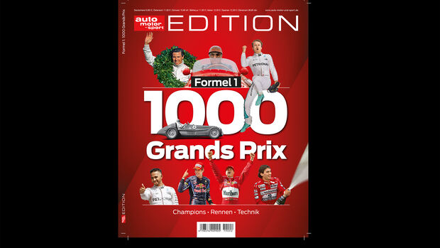 Formel 1 - Edition - 1.000 Grand Prix - Cover