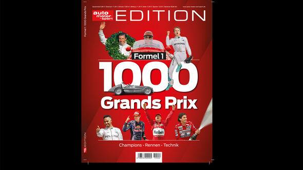 Formel 1 - Edition - 1.000 Grand Prix - Cover
