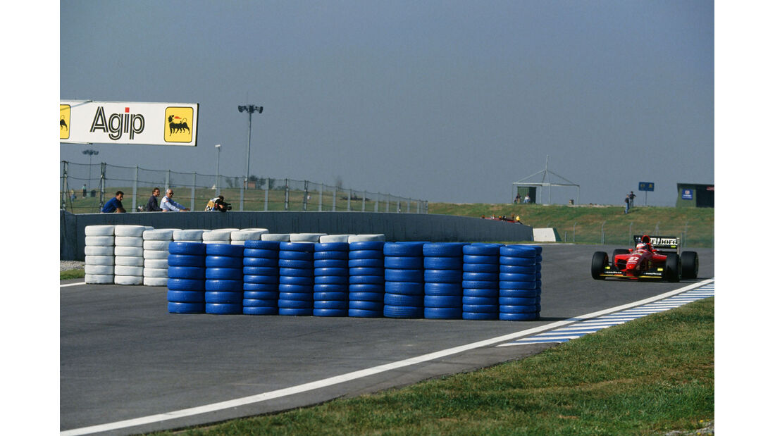 Formel 1 - F1 - F1-Saison 1994 - Berger - Ferrari - GP Spanien 1994