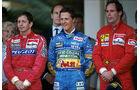 Formel 1 - F1 - F1-Saison 1994 - Brundle - Schumacher - Berger - GP Monaco 1994