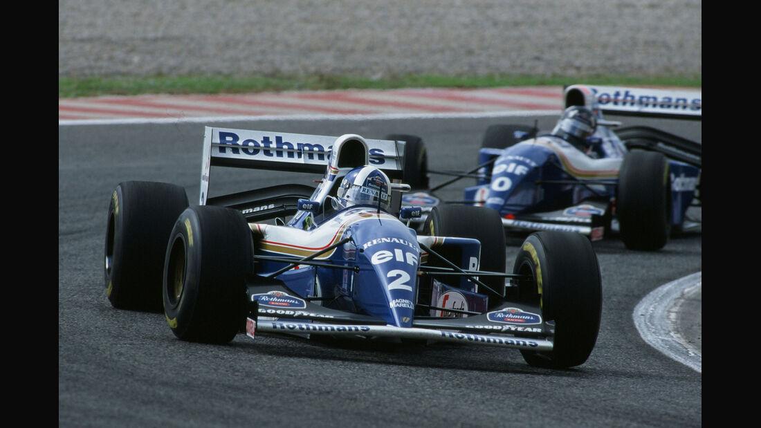 Formel 1 - F1 - F1-Saison 1994 - Coulthard - Hill - Williams FW16 - GP Portugal 1994 - Estoril
