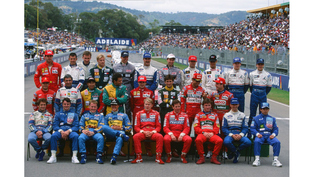 Formel 1 - F1 - F1-Saison 1994 - Fahrerfoto 1994
