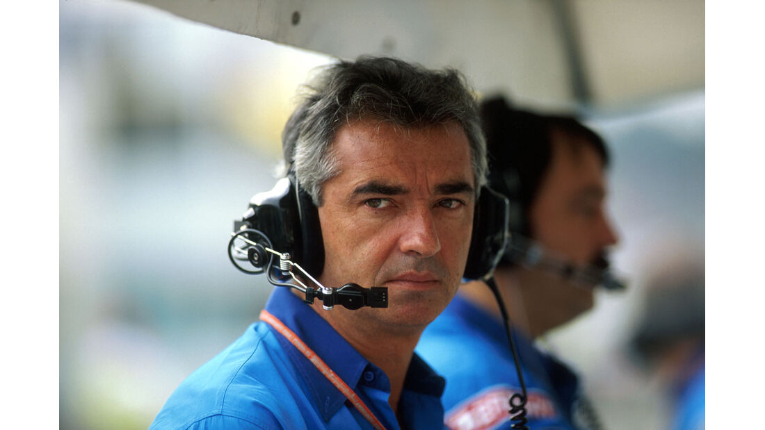 Formel 1 - F1 - F1-Saison 1994 - Flavio Briatore - Benetton-Ford - 1994