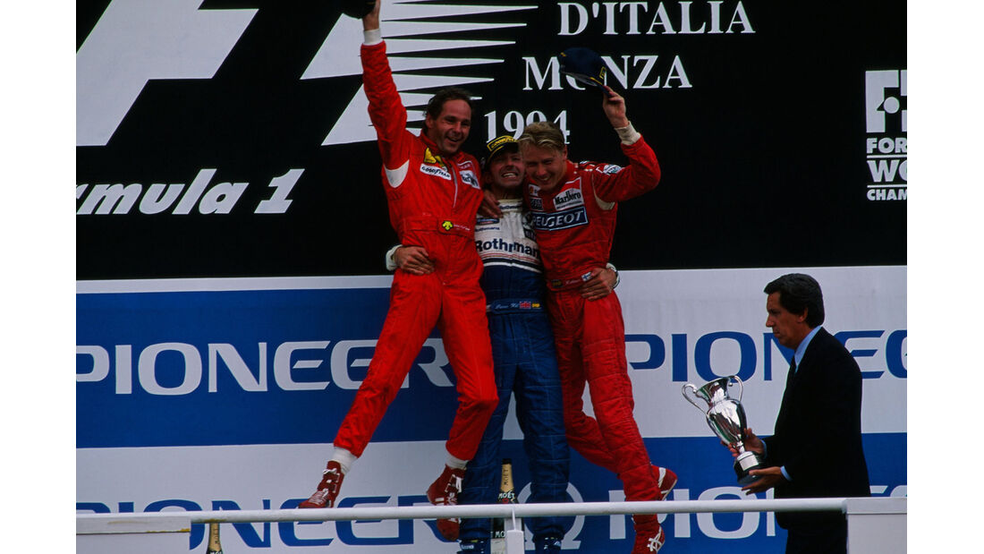 Formel 1 - F1 - F1-Saison 1994 - Hill - Berger - Häkkinen