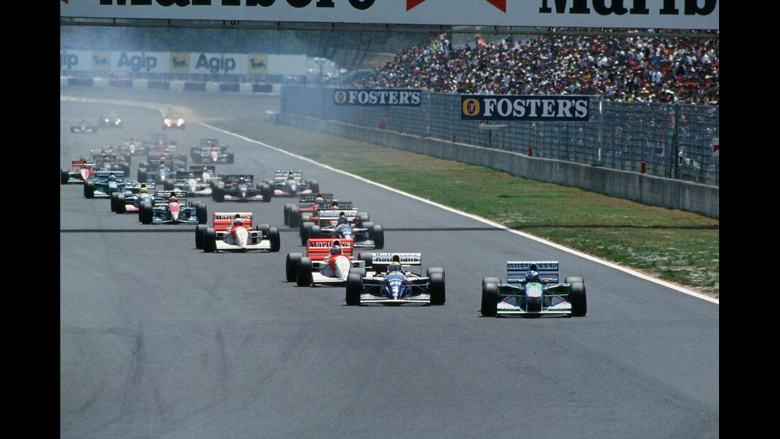 Formel 1 - F1 - F1-Saison 1994 - Schumacher - Benetton B194 - Senna - Williams FW16