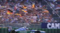 Formel 1 - F1 - F1-Saison 1994 - Schumacher - Benetton-Ford B194 - GP Deutschland 1994 - Hockenheim