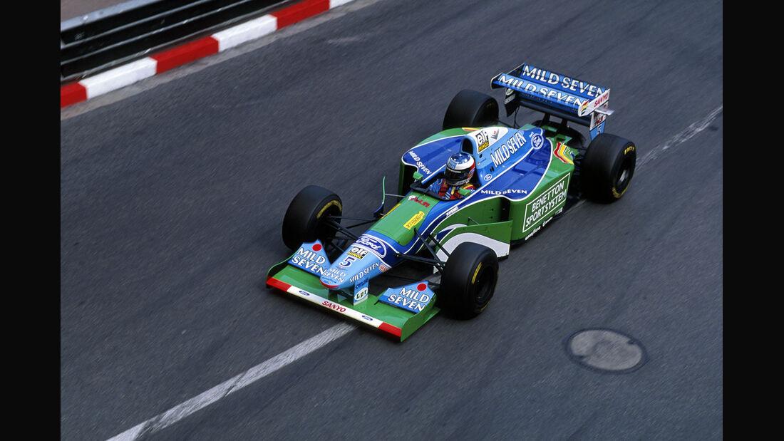 Formel 1 - F1 - F1-Saison 1994 - Schumacher - Benetton-Ford B194 - GP Monaco 1994