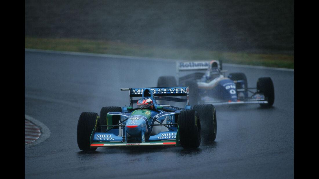 Formel 1 - F1 - F1-Saison 1994 - Schumacher - Benetton-Ford B194 - Hill - Williams FW16 - GP Japan 1994