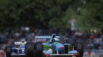 Formel 1 - F1 - F1-Saison 1994 - Schumacher - Benetton-Ford B194 - Senna - Williams FW16