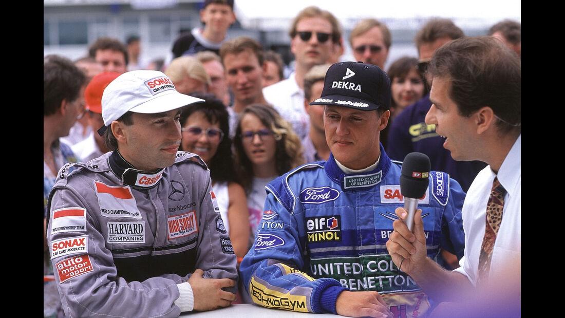 Formel 1 - F1 - F1-Saison 1994 - Schumacher - Frenzen