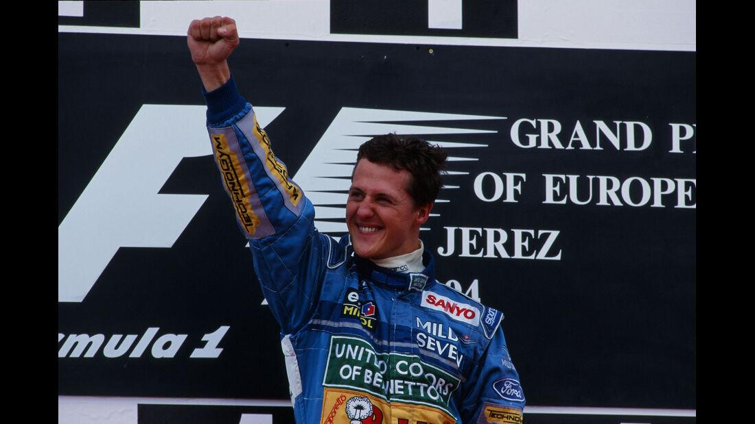 Formel 1 - F1 - F1-Saison 1994 - Schumacher - GP Jerez 1994