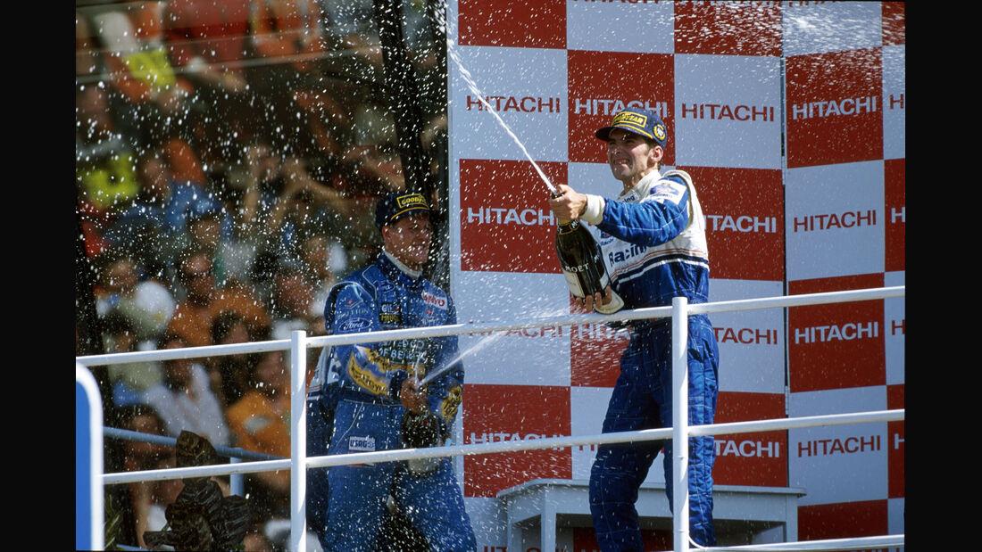 Formel 1 - F1 - F1-Saison 1994 - Schumacher - Hill