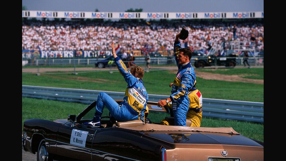 Formel 1 - F1 - F1-Saison 1994 - Schumacher - Jos Verstappen - GP Hockenheim 1994