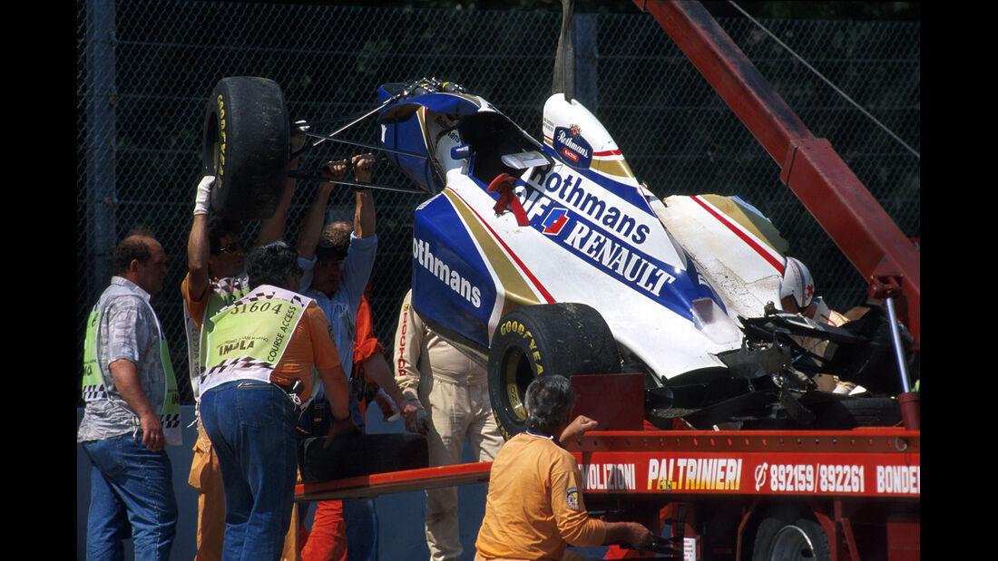 Formel 1 - F1 - F1-Saison 1994 - Senna - Unfall - Williams FW16
