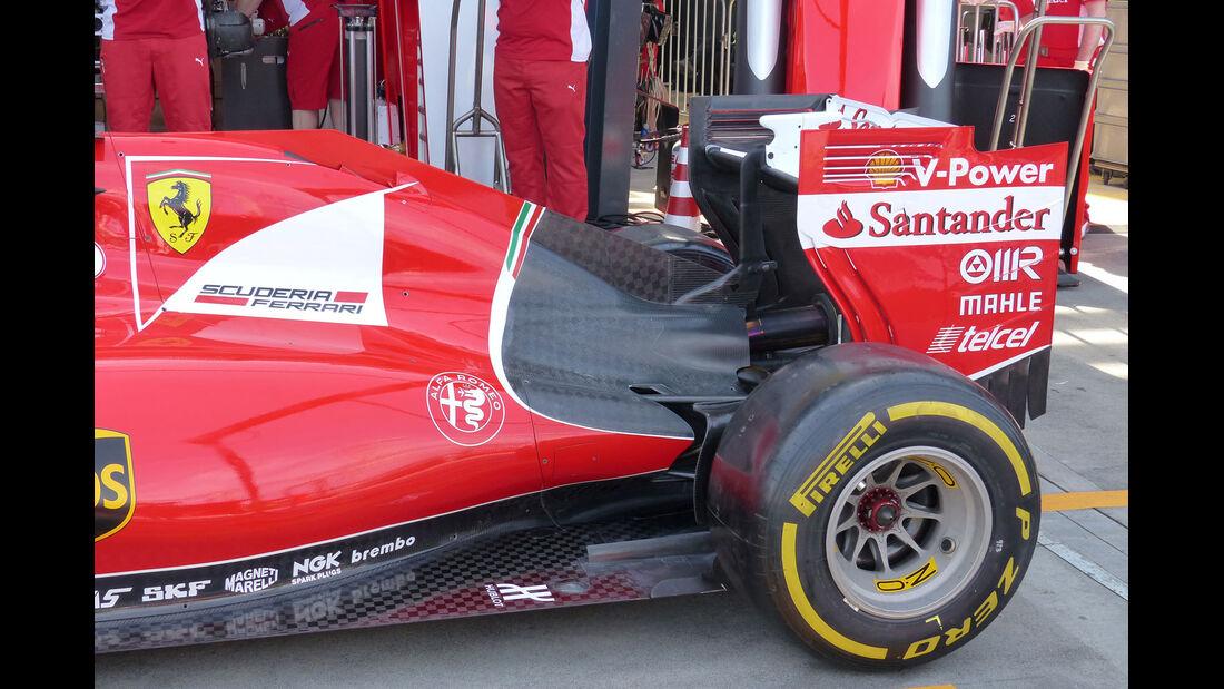Formel 1 - F1 - Ferrari - Ferrari SF15-T - GP Australien 2015