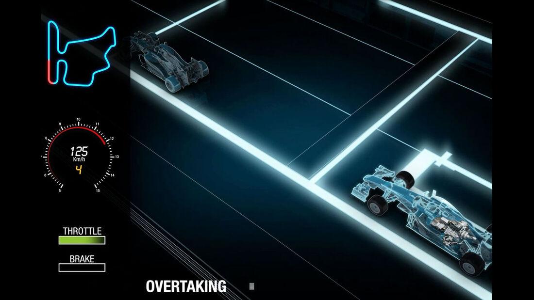 Formel 1 - F1- Renault - Motor - V6-Turbo - MGU-H - MGU-K