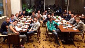 Formel 1 Fahrer-Dinner GP Korea 2013